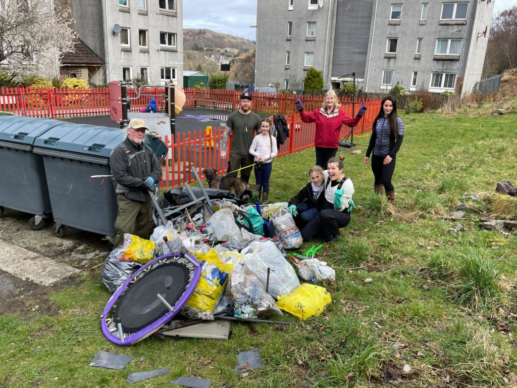 Communities get a spring clean
