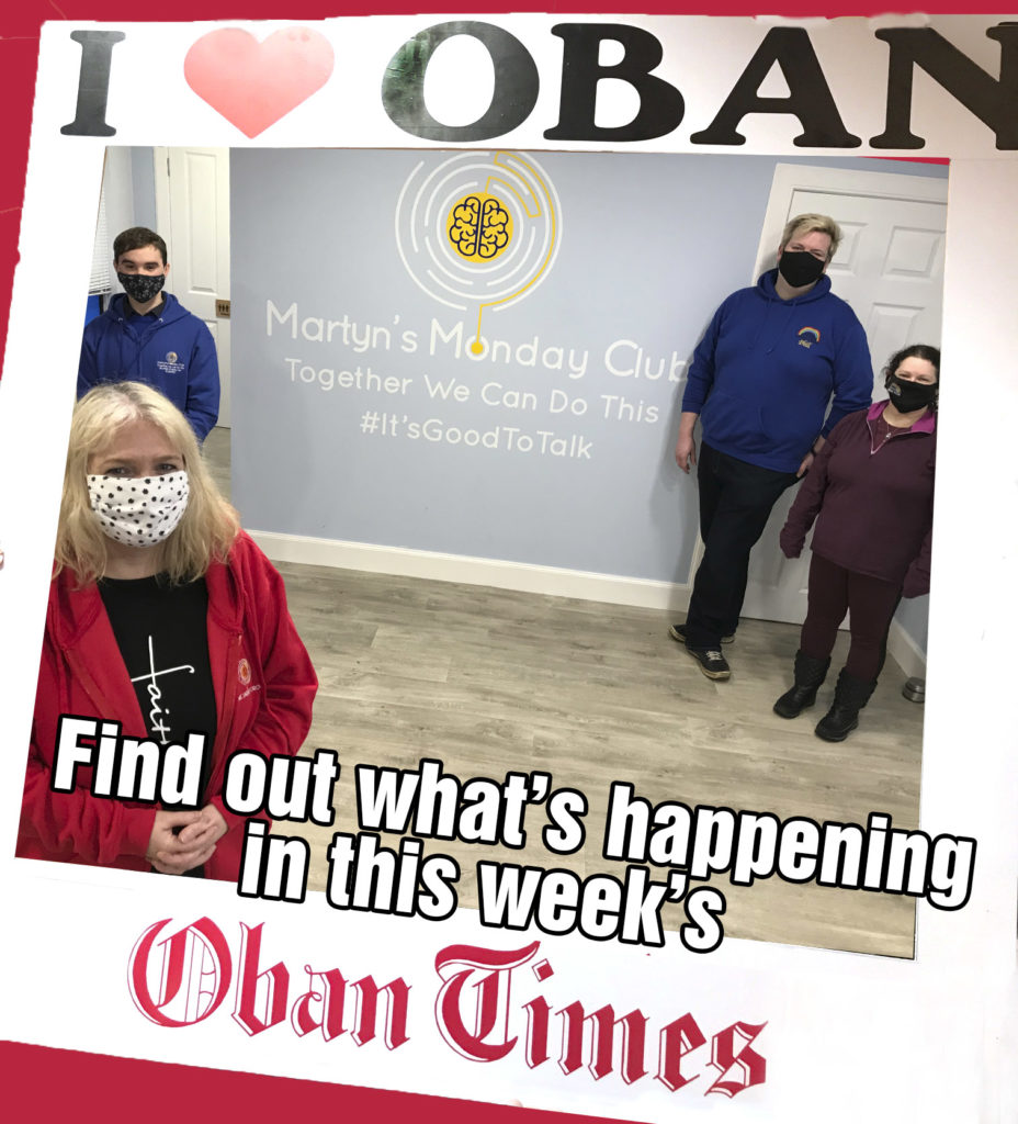 What's in This Week's Oban Times 3rd March 2021