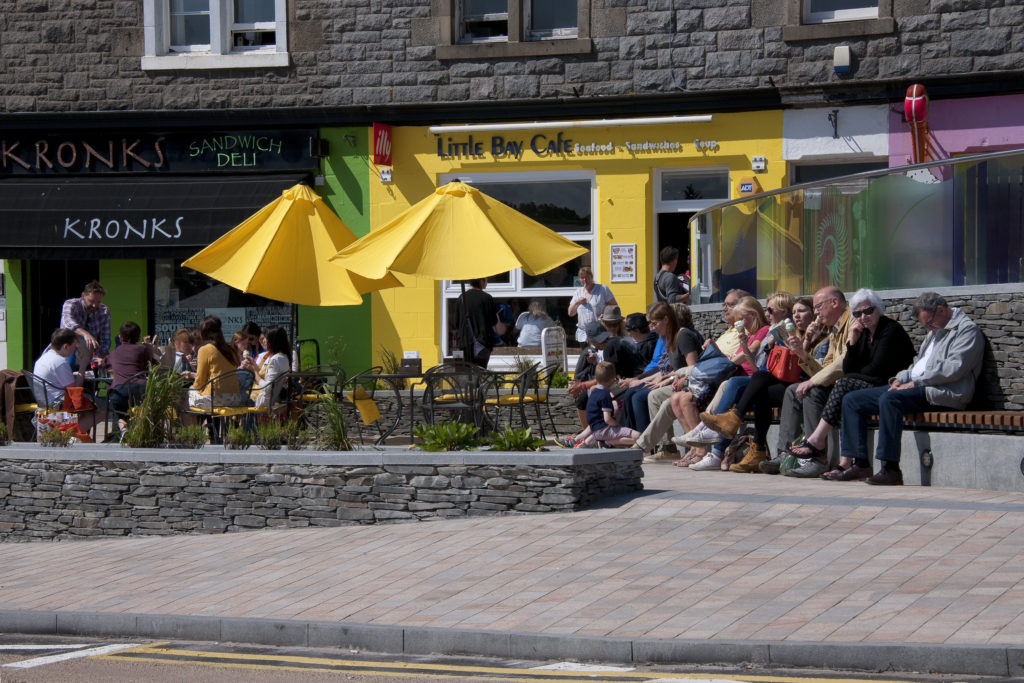 Improvements in town centre access have still to be completed.