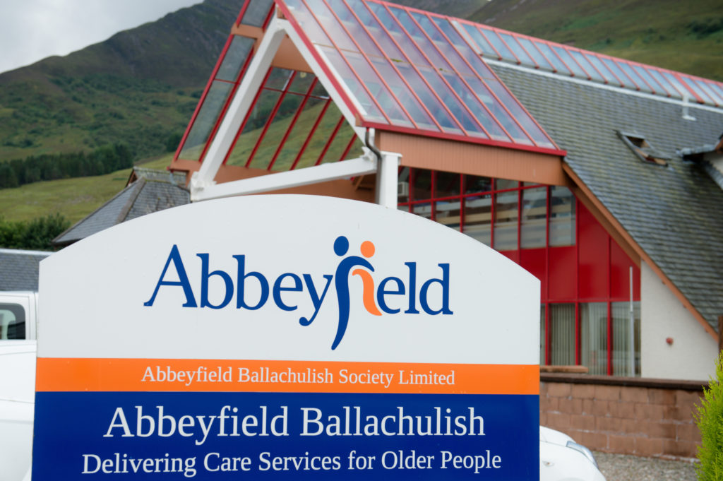 The Abbeyfield care home in Ballachulish F33 Abbeyfield care home in Ballachulish 1JP