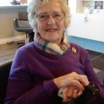 Faye Steel, pictured, has been made an honorary member of Lochaber Rotary. NO F18 Faye Steel