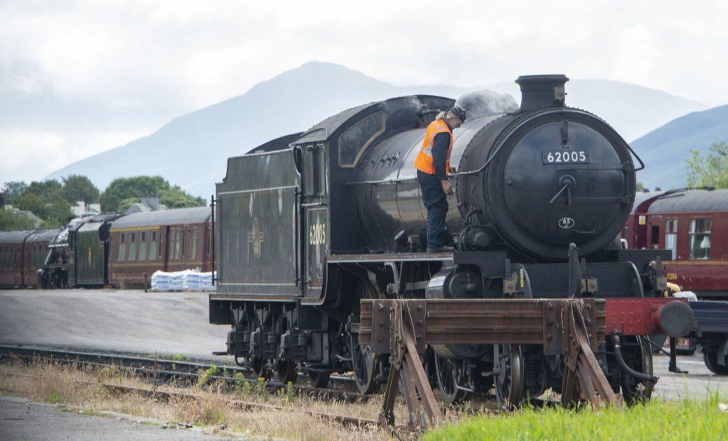 Pure magic as Harry Potter train steams back