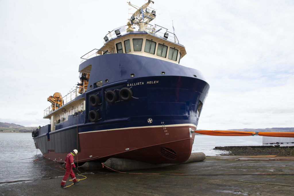 Scottish Sea Farms defends its new thermalicing boat