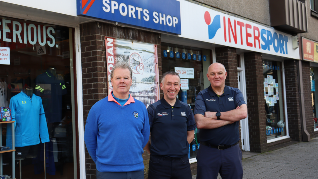 Sports Shop Oban celebrates 10 years not out