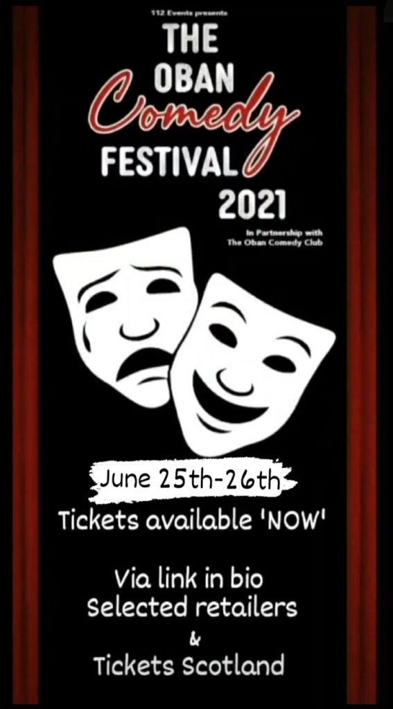 Oban Comedy Festival in June