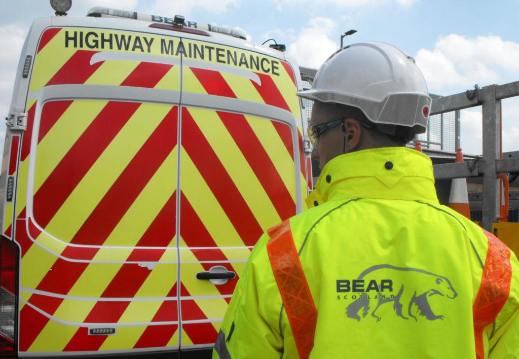 Safety first as roadworks start in Mallaig
