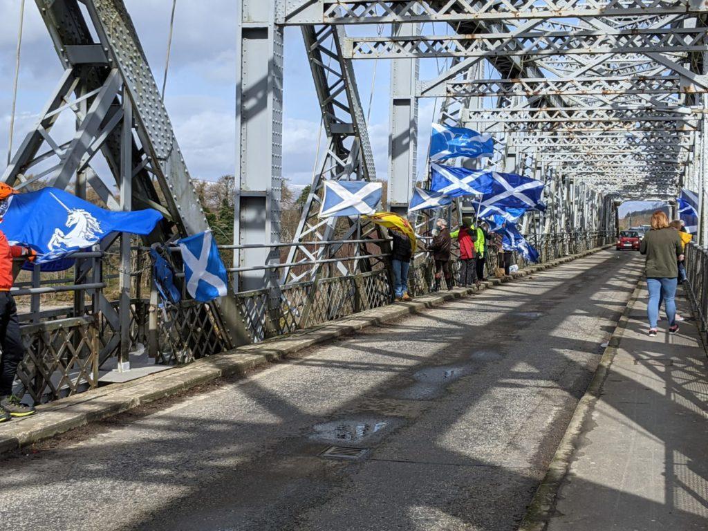 Bridges for Indy action spans Connel landmark