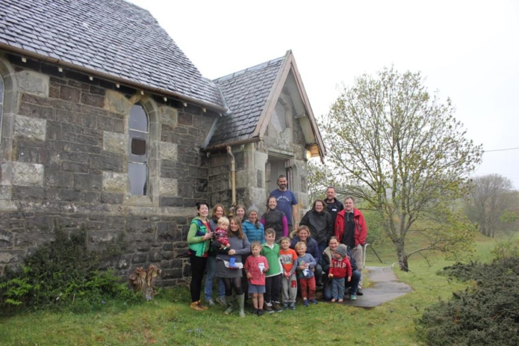 Turning the old school building into a community hub has long been an ambition on Kerrera. NO_T40_Oldschoolkerrera
