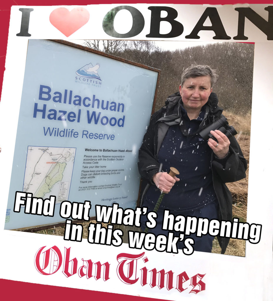 What's in This Week's Oban Times 14th April 2021
