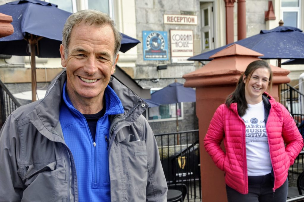 Robson Green in Oban