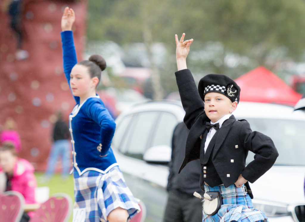 The Highland Dancers proved popular the Glengarry Highland Games. F27 glengarry games 02 JP