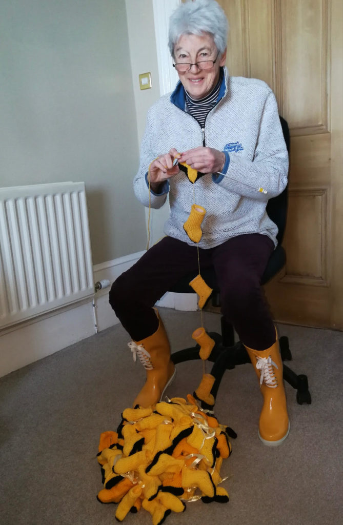 Fundraisers give May Day Appeal some welly