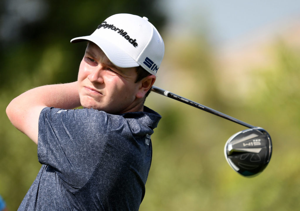 Bob tees up for Masters title