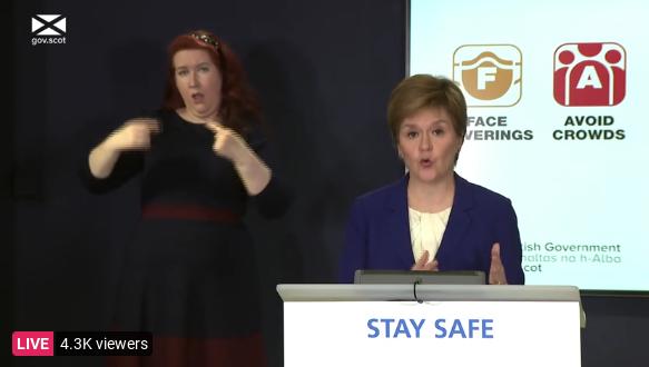 'Emotional' Sturgeon eases lockdown