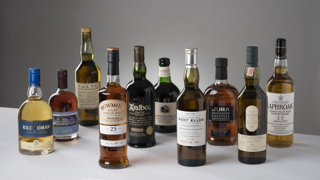 Islay whisky auction tops £130,000