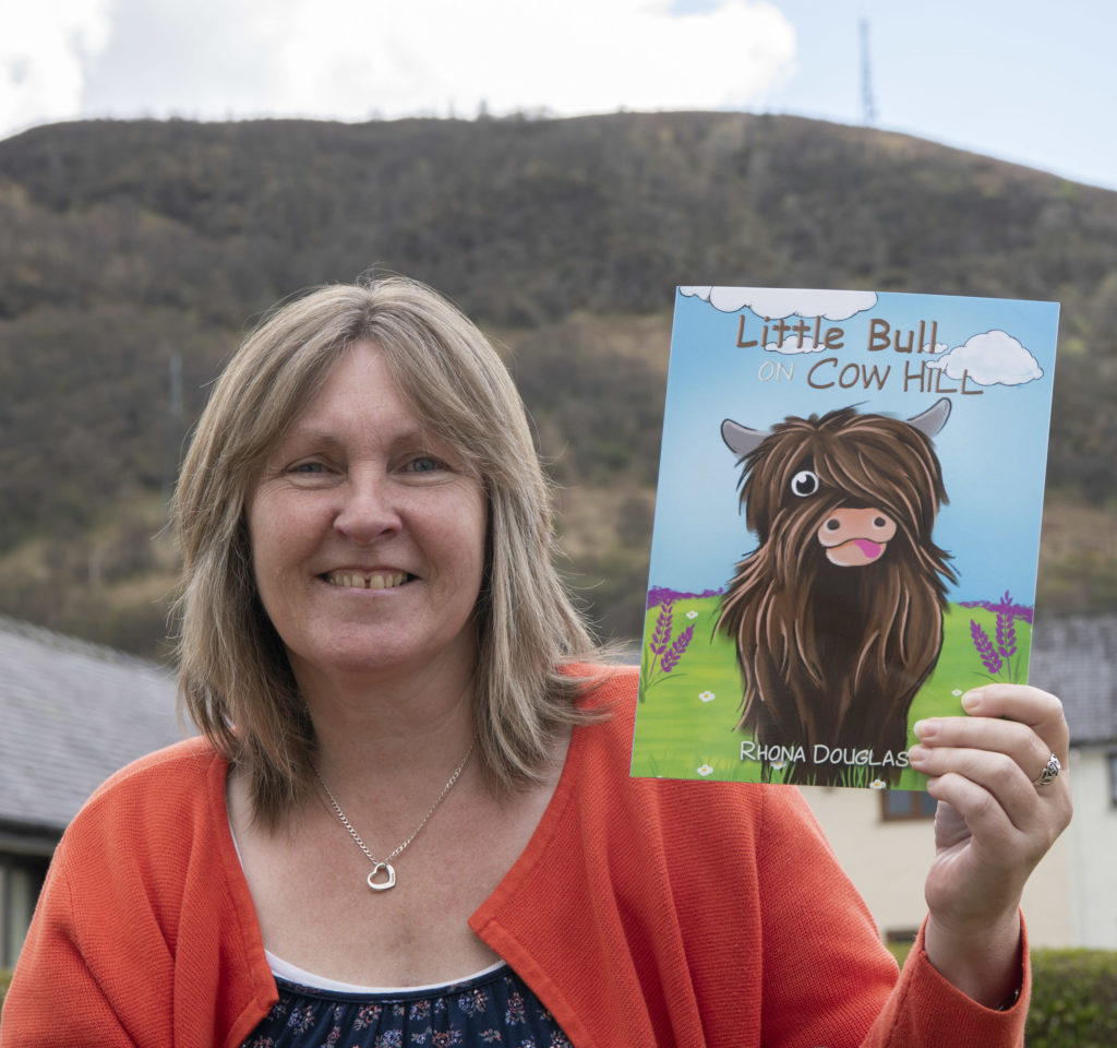 Room with a view inspires Little Bull book