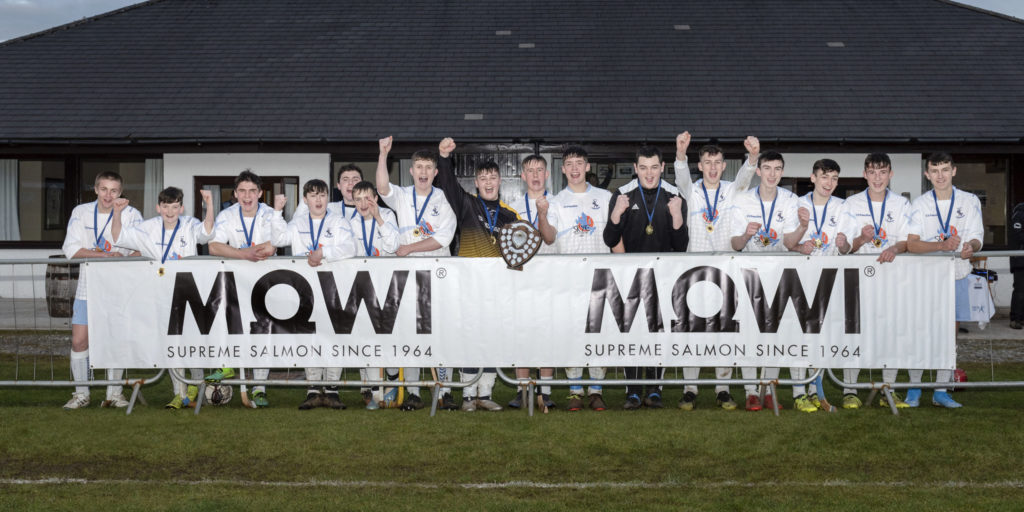 Mowi deliver opportunities for young shinty players