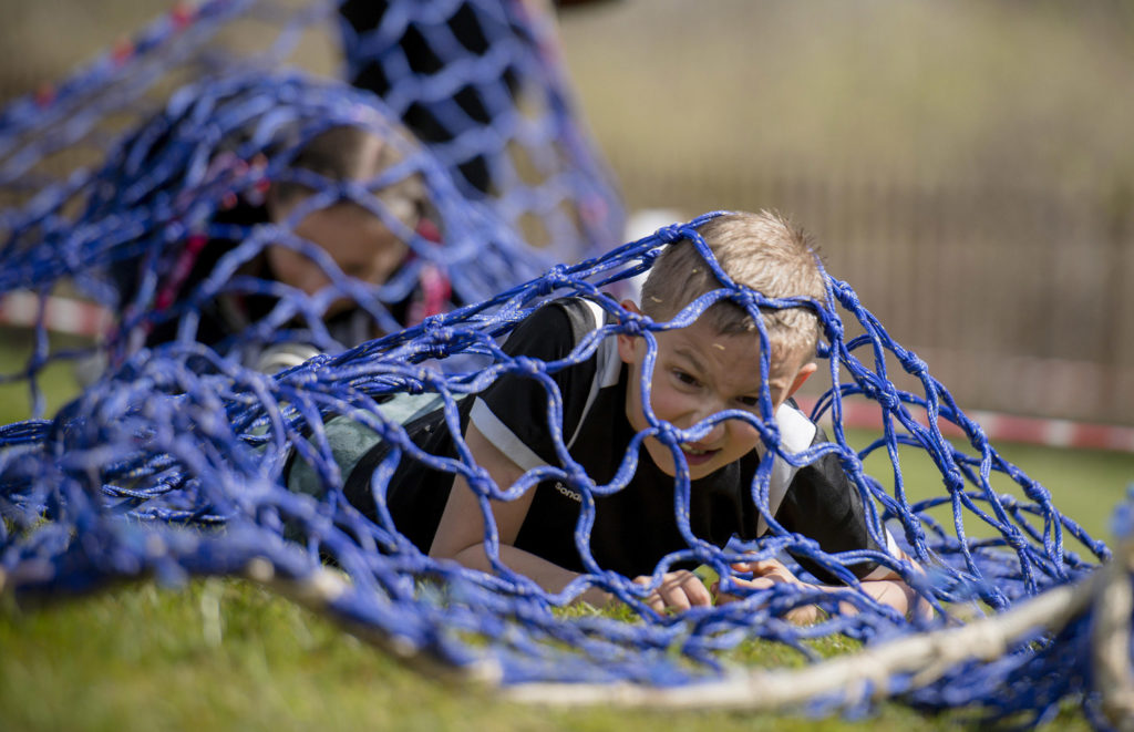 Inverlochy school takes on mudder of all good fundraisers