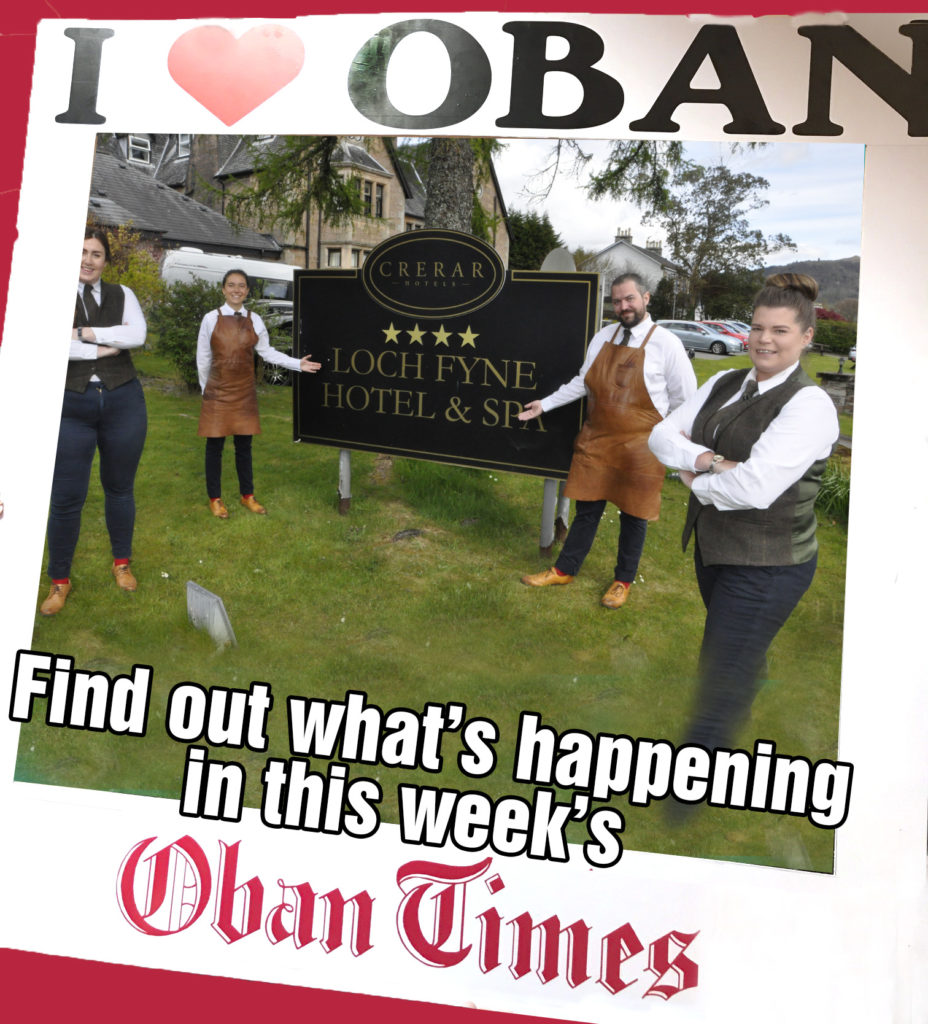 What's in This Week's Oban Times 12th May 2021