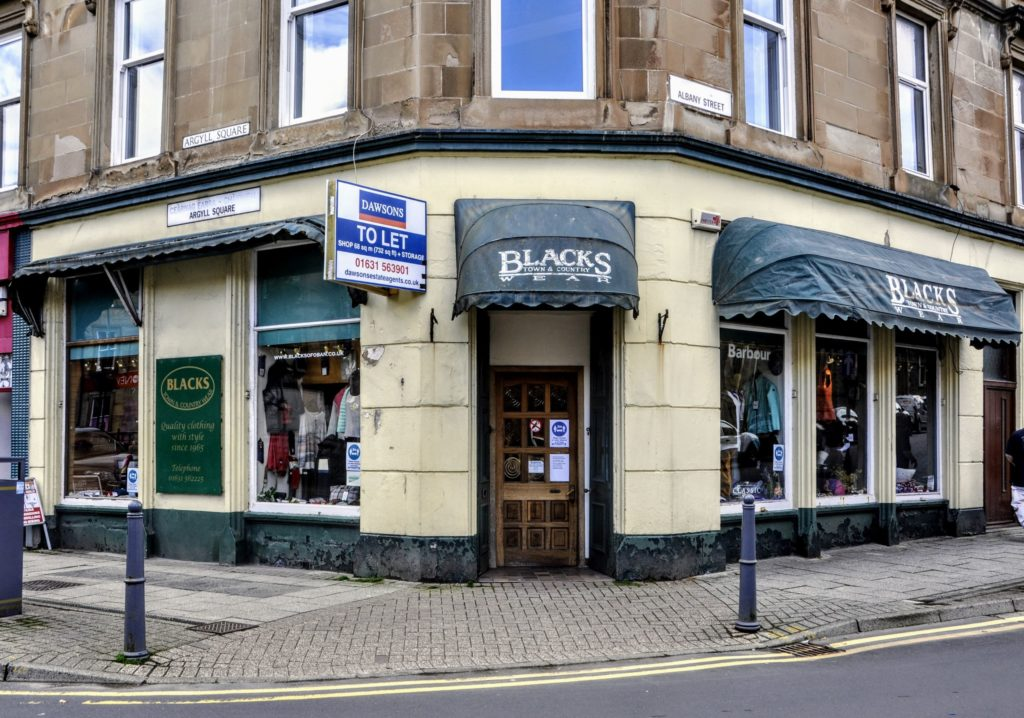 Oban shop owners prepare to bow out