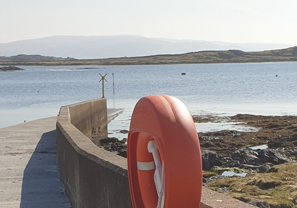The Kilchoan jetty, pictured, is one of the projects to benefit. NO F24 Kilchoan jetty scenic