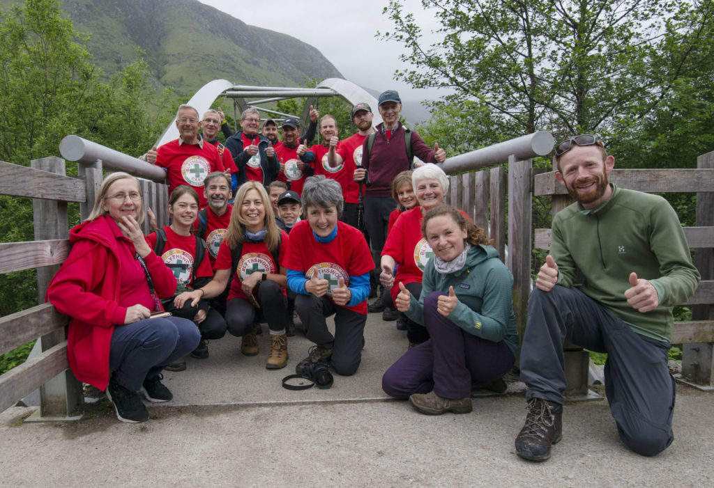 Blythswood team bests the Ben in fundraising ascent