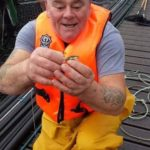 Clive Hendry's partner, said she had been left devastated by the death of the fish farm worker, pictured, last year. NO F25 Clive Hendry 01