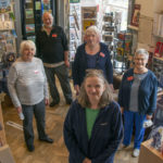 Volunteers at the West Highland Museum who helped gain the award. Photograph: iain Ferguson, alba.photos NO F25 WEST HIGHLAND MUSEUM VOLUNTEERS