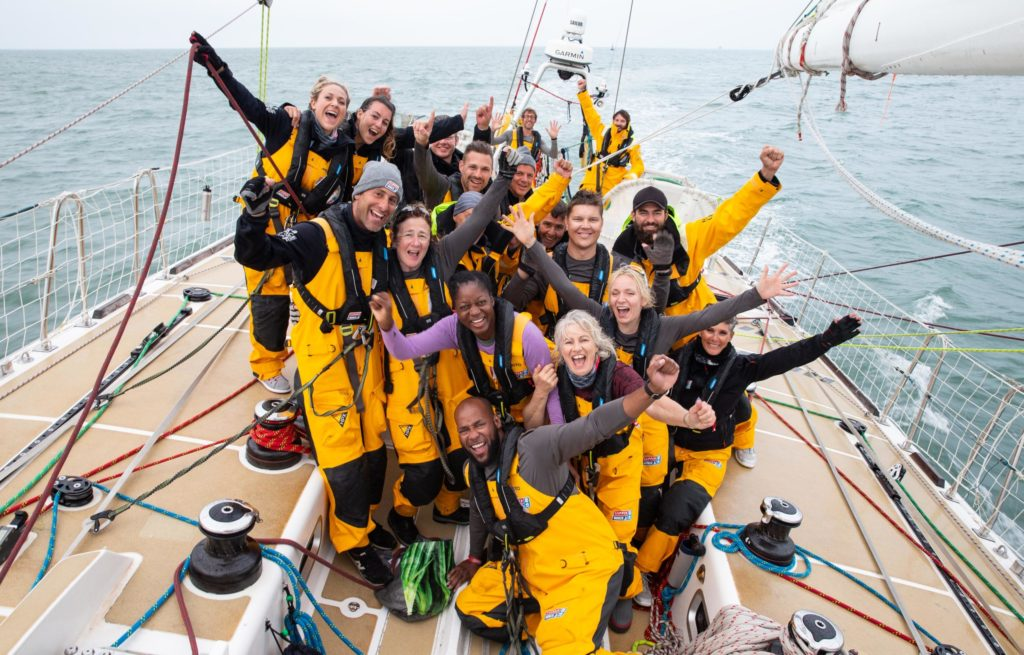 The Clipper Round the World Race training yacht will be based in Oban this summer and local young people are encouraged to apply for sailing courses. Photograph:: Matthew Dickens/imagecomms NO-F25-clipper-01-scaled.jpg