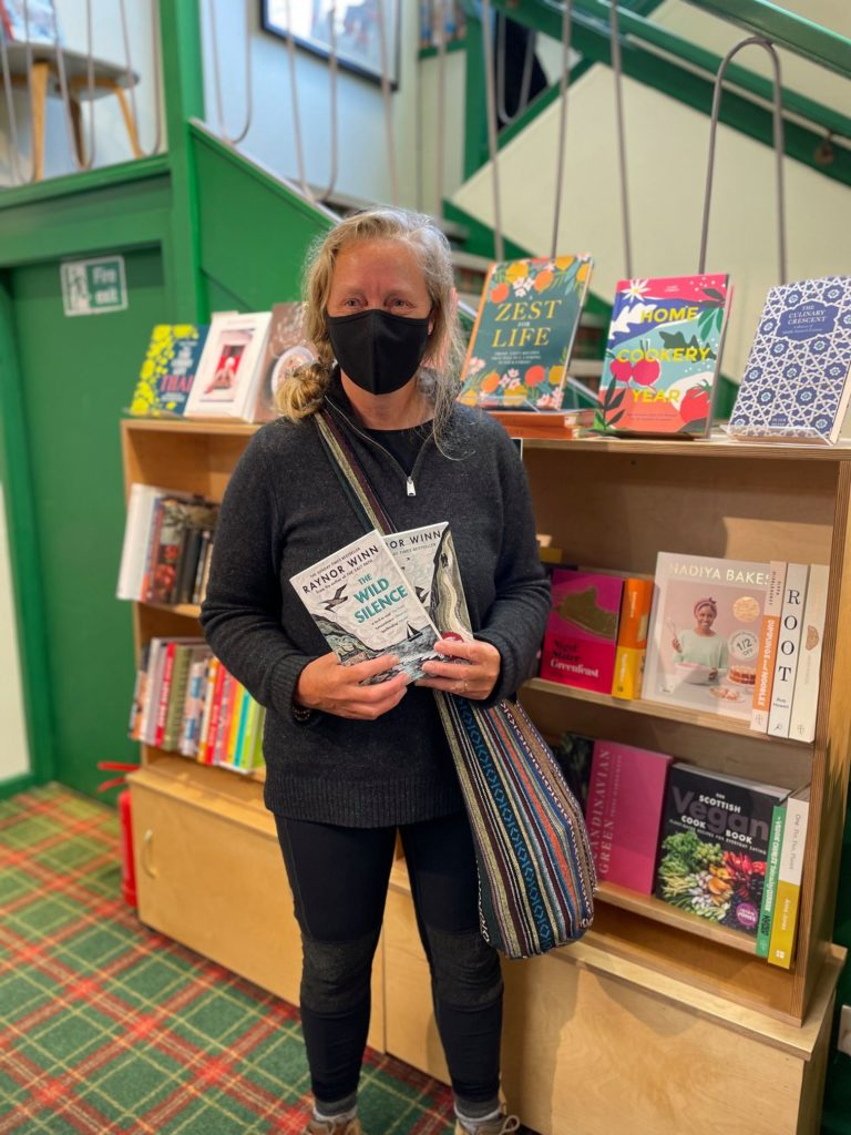 The Salt Path author Raynor Winn in surprise Fort bookshop visit