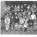 Arisaig SWRI members photographed around 40 years ago. Photograph: Arisaig SWI. NO F27 Arisaig SWRI 01