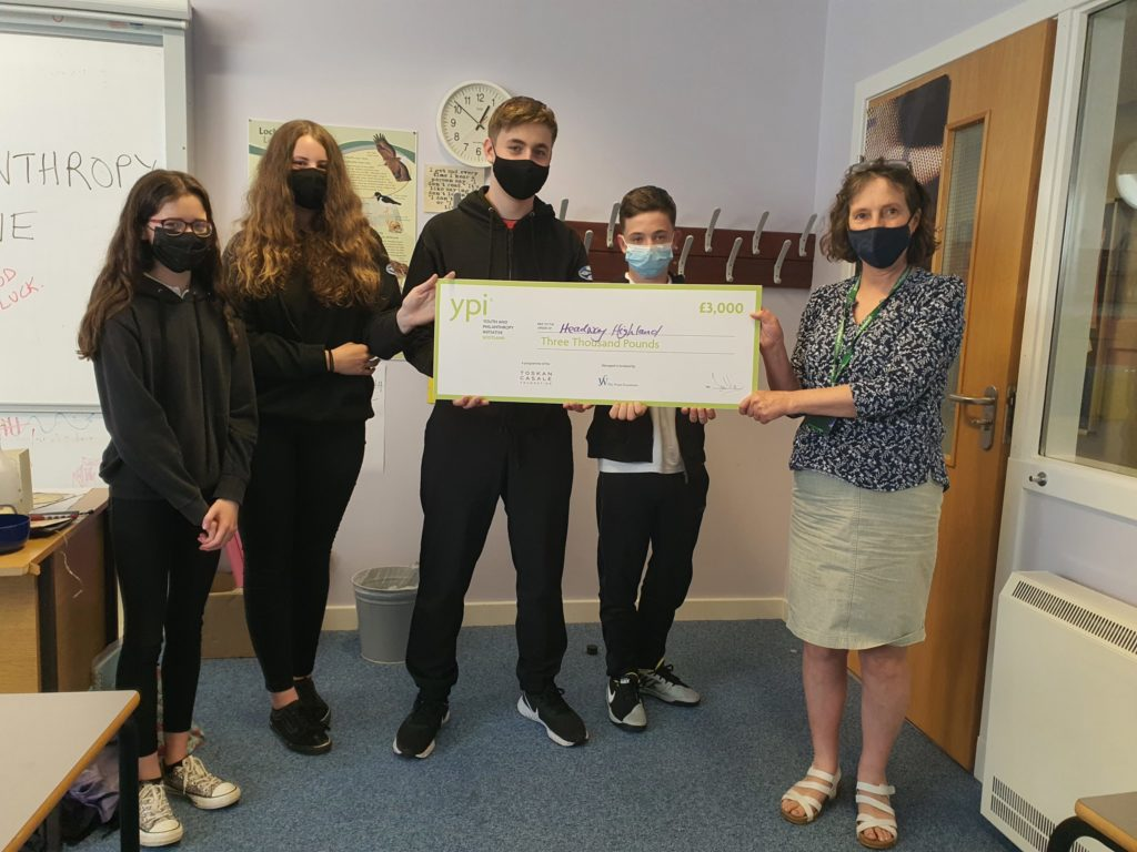 Ardnamurchan pupils show passion for philanthropy