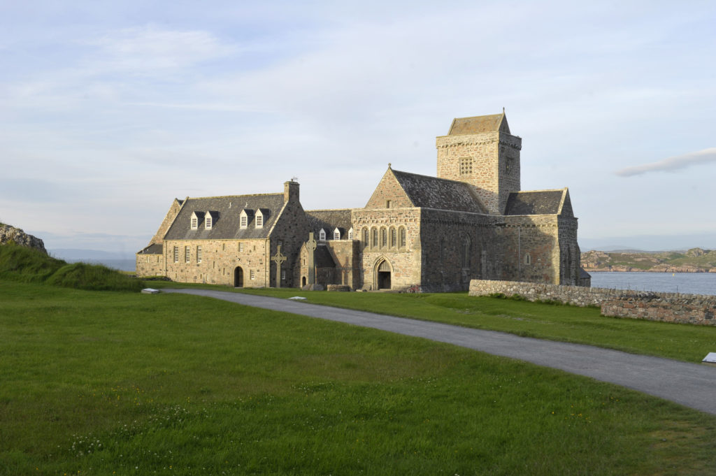 Iona Abbey is to undergo a £60,000 upgrade. Photograph by Donald MacLeod. NO_T07_Iona01