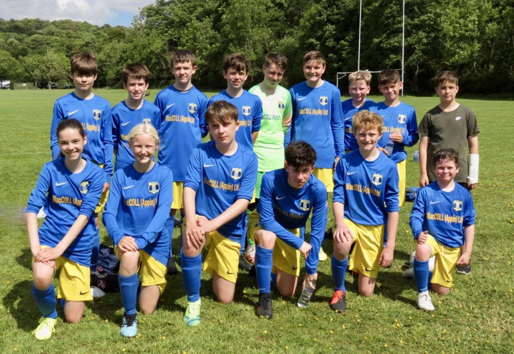 Under-13s end season with fine cup run