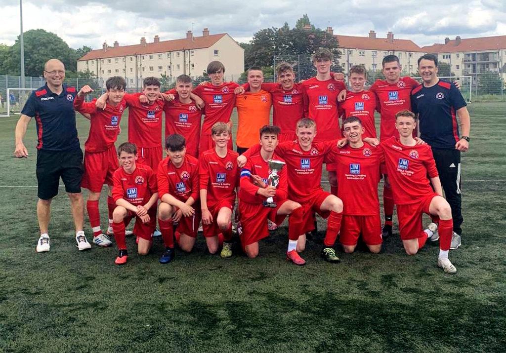 First silverware for Saints Under 15s