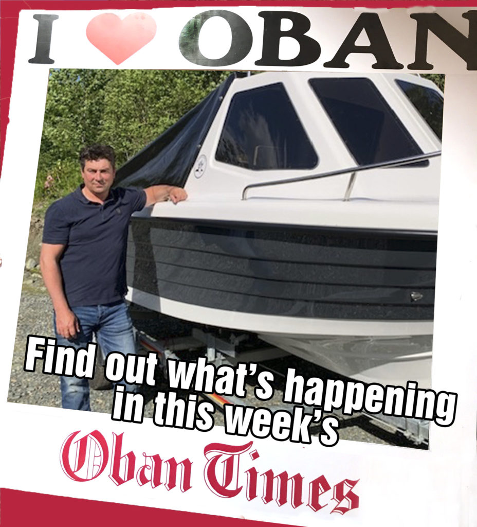 What's in This Week's Oban Times 9th June 2021