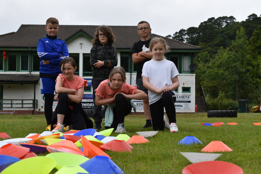 Youngsters get on their marks at Mini Athletics Oban