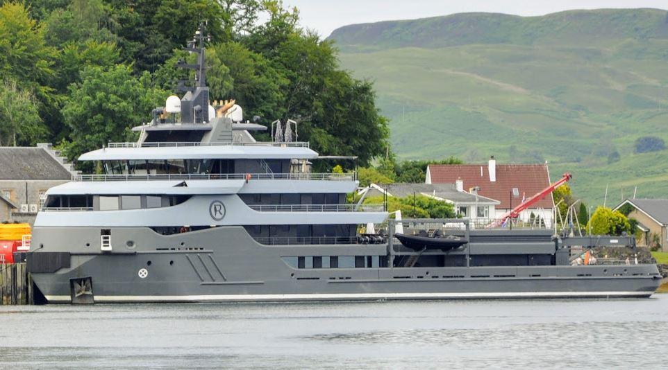 £59m superyacht makes waves in Oban