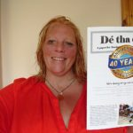 Lochaber Times correspondent, Nic Goddard, pictured, is the new editor of De tha dol. NO F29 Nic latest