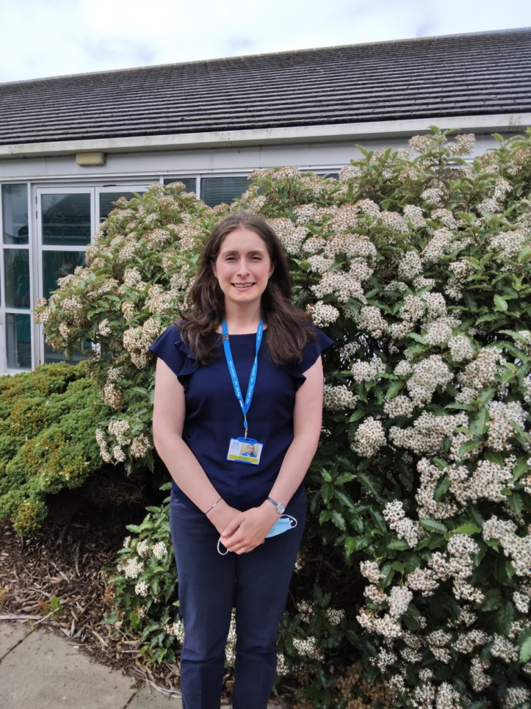Alana MacPhee, First Contact Practitioner Physiotherapist (Uist and Barra). NO F30 Alana MacPhee
