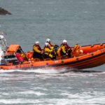 Kyle RNLI lifeboat which was in action twice on Saturday. Photograph: Kyle RNLI. NO F30 Kyle Lifeboat Picture New