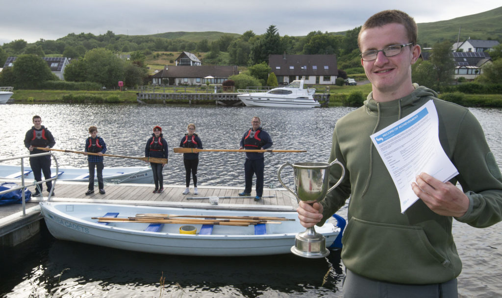 Finlay sets sail from Lochaber Sea Cadets with eye on a coveted Green Beret