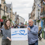 Kate Forbes MSP meeting Scotland's Towns Partnership Chief Officer Phil Prentice in Fort William recently. NO F30 SCOTLAND LOVES LOCAL (SMALL FILES)-9