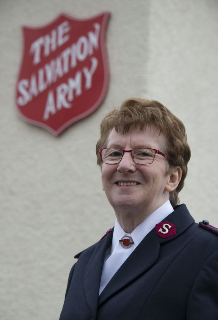 Baton handed on for The Salvation Army in Fort William