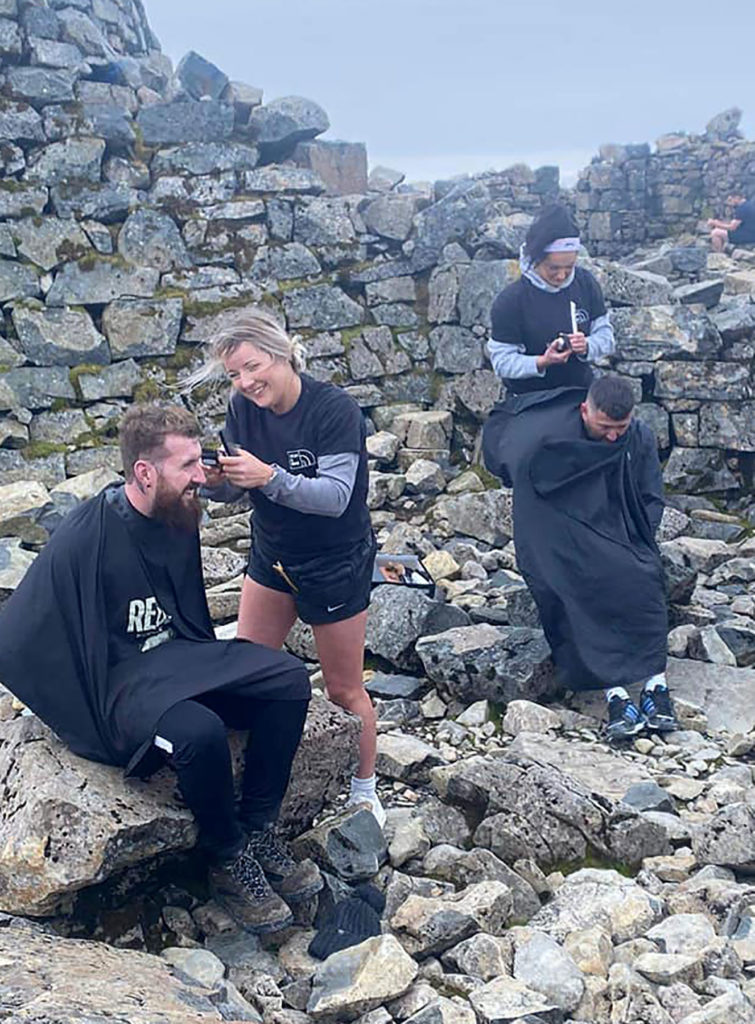 Stag and Buck haircuts reach new heights with Ben Nevis appointment