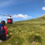 Lochaber Mountain Rescue Team and a Coastguard helicopter were kept busy at the weekend. Photograph: LMRT. NO F31 mountain rescue 01