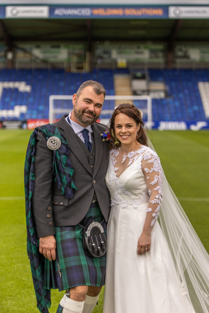 Local MSP Kate ties the knot at church service in Dingwall