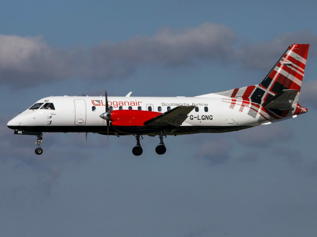 Loganair to keep face coverings on flights to the islands