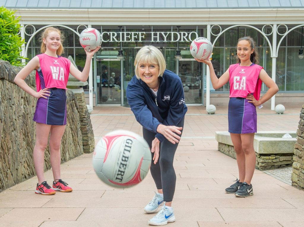 Hotel group in famous netball link-up
