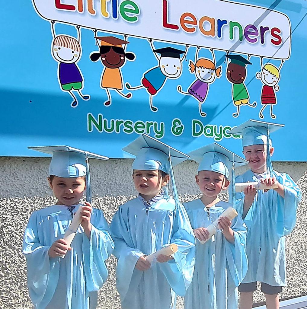 Little celebration for little learners